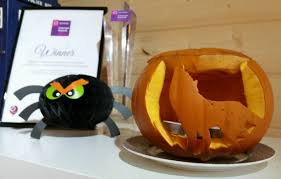 Peppa Pig Pumpkin Carving by Chester Halloween Pumpkin Carving Chester Chronicle