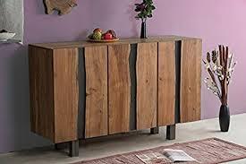 sedex jalna sideboard wohnzimmerschrank konsole kommode anrichte akazie massivholz
