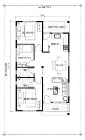 100 Rectangle House Corazon Charming ThreeBedroom Bungalow Pinoy