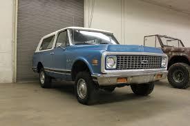 1972 CHEVY K5 BLAZER 4X4 ** 4-SPEED MANUAL TRANS ** 350ci ...