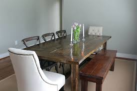 Kitchen Table And Bench Set Ikea by Dining Room Table With Bench Against Wall Dining Room Table With