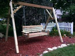 Patio Swing Sets Walmart by Outdoor Swing Bench Plans Cheap Swing Bench Porch Swing With