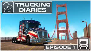 Trucking Diaries - Episode #1 (American Truck Simulator) - YouTube 2012 Mid America Trucking Show Photo Image Gallery American Truck Simulator Trucks And Cars Download Ats Born In The Usa 2013 Kenworth W900l Sports Allamerican Theme Scs Softwares Blog Screens Friday 100 Save Game Free Cam Mod Alpha Build 0160 Gameplay Youtube W900 Is Almost Here Aw All American Skin V1 Mods Trailers Engizer Trucks