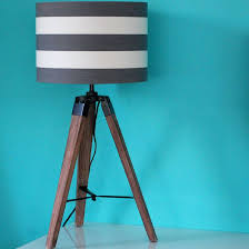 Curved Floor Lamp Next by Tripod Table Lamp Wood Pair Of Brass Tripod Table Lamps By 1