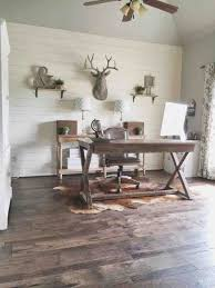 Design With Light Green Painted Rhkinggeorgehomescom Diy Shiplap Wall And Beautiful Hickory Rhsolosumbacom Rustic Office