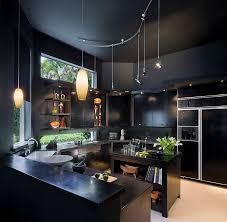 View In Gallery Gorgeous Contemporary Kitchen For Those Who Love Black Design Tomas Frenes Studio