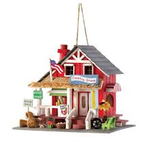 Amazon Gifts Decor Rustic Old Time Country Store Wooden Bird House Garden Outdoor