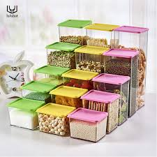 boite de rangement cuisine luluhut cuisine transparent boîte de rangement en plastique de