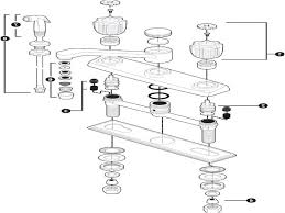 Bathroom Sink Pipe Diagram by Beautiful Kitchen Sink Plumbing Parts Including Faucet Diagram