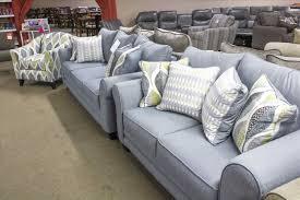 Couch Light Blue Gray Sofa Pillows Best Decor Things Leather Loveseat Set Nice Velvet Cover
