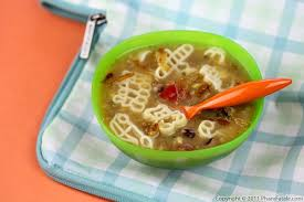 Vegetable Pasta Soup Recipe Lunch Ideas For Kids