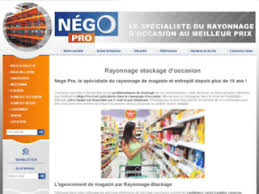 Negopro Rayonnage Stockage D Occasion Nego Pro Negopro Rayonnage Stockage Industriel D Occasion