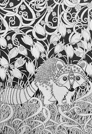 Amazon Creative Haven Midnight Forest Coloring Book Animal Designs On A Dramatic