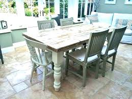 Farmhouse Style Dining Table And Chairs Room Set