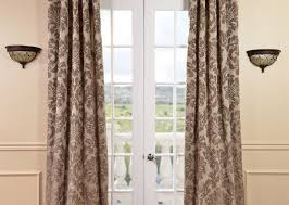 Jcpenney Curtains For French Doors by Curtains Diy French Door Curtain Panel Tutorial 2 Amazing French