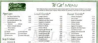 Gallery For Olive Garden Dinner Menu Pdf Olive Garden Menu PDF