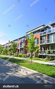 100 Glass Modern Houses Town Brick On Stock Photo Edit Now