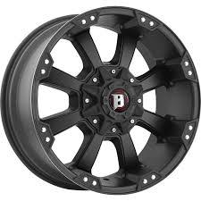 Ballistic Morax Black Wheels 845 20X9 6X5.5