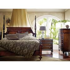 British Colonial Poster Bed