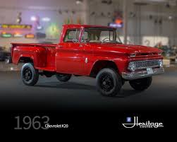 100 1963 Chevrolet Truck GM Heritage Center Collection K2O