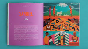 Illustrations For A Children Book Published By Concern Worldwide Editorial Design And Photos Red Dog