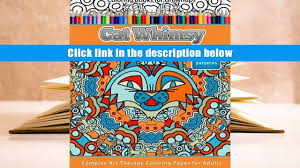 Read Online Coloring Books For Grownups Cat Whimsy Mandalas Geometric Shapes Pages
