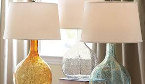 Pottery Barn Crystal Table Lamps by Mercury Glass Table Lamps Amaya Silver Mercury Glass Table Lamp