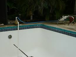 suppression with cap tile replacement leaking pools