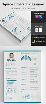 Resume 15 Creative Infographic Templates