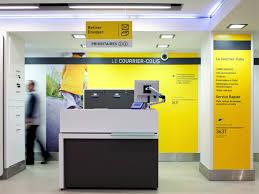 les bureaux de poste nouveau concept de bureaux de poste la poste agence w