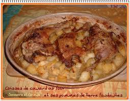 comment cuisiner du canard cuisses de canard au four et ses pommes de terre fondantes