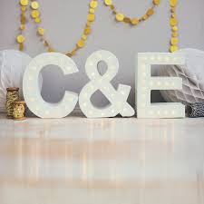 letter lights for sale light up marquee initial letters