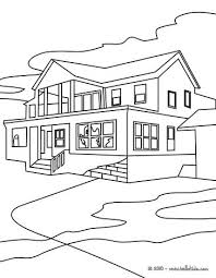 Letter H Is For House Coloring Page Simple Nice School Colouring Pages