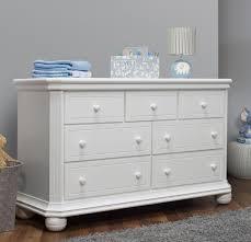 Sorelle Dresser French White by Sorelle Vista Elite 7 Drawer Dresser White Babies