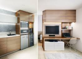 Apartment Small Kitchen Ideas Modern Cabinets To Go Floating Shelves Dark Brown Wooden Table Design Dining Blue Kitchens Decor