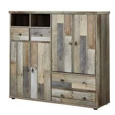 lomadox garderobenschrank branson 36 schuhschrank mehrzweckschrank vintage driftwood braun bxhxt ca 130x117x40cm