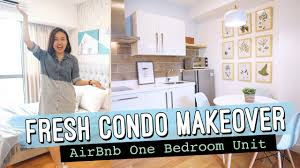 100 One Bedroom Design Fresh Condo Makeover AirBnb White Modern By Elle Uy