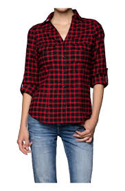 women u0027s plaid fitted button down flannel at amazon women u0027s