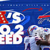 Bills claim the No. 2 seed for the AFC playoffs