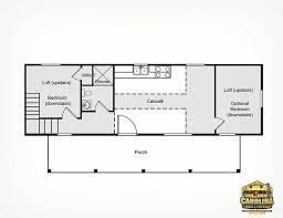 14x40 Cabin Floor Plans by 14 X 40 Floor Plans With Loft The Cape Cod 14 U0027 X 40 U0027 Base Price