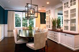 Dining Room Buffet With Glass Doors Traditional Cabinet