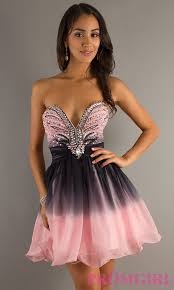 prom dresses pink and black holiday dresses