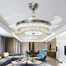 RS Lighting Fashion Home Dining Room Living Romantic Star Ceiling Fan Lights 42 Inch
