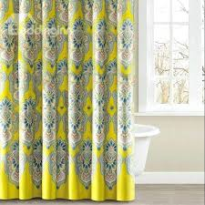 yellow gray curtains teawing co