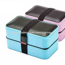 China FDA Colorful Heaven Bento Box Leakproof Lunch Boxes With Fun Cutlery BFA Free