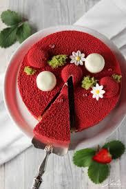 erdbeer vanille torte fraisier de cyril lignac