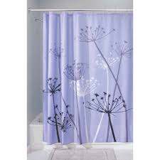 Chevron Print Curtains Walmart by Best Dandelion Shower Curtain For Your Interdesign Dandelion
