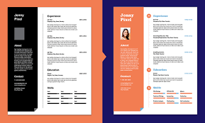 Creative Resume Design Step 1