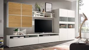hülsta now easy wohnwand mit viel stauraum ca h180 7 x b384 x t 44 8 cm in 3 designs