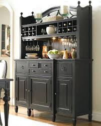 Dining Room Buffet With Wine Rack Sideboards Bar Cabinet Sideboard Classy Black